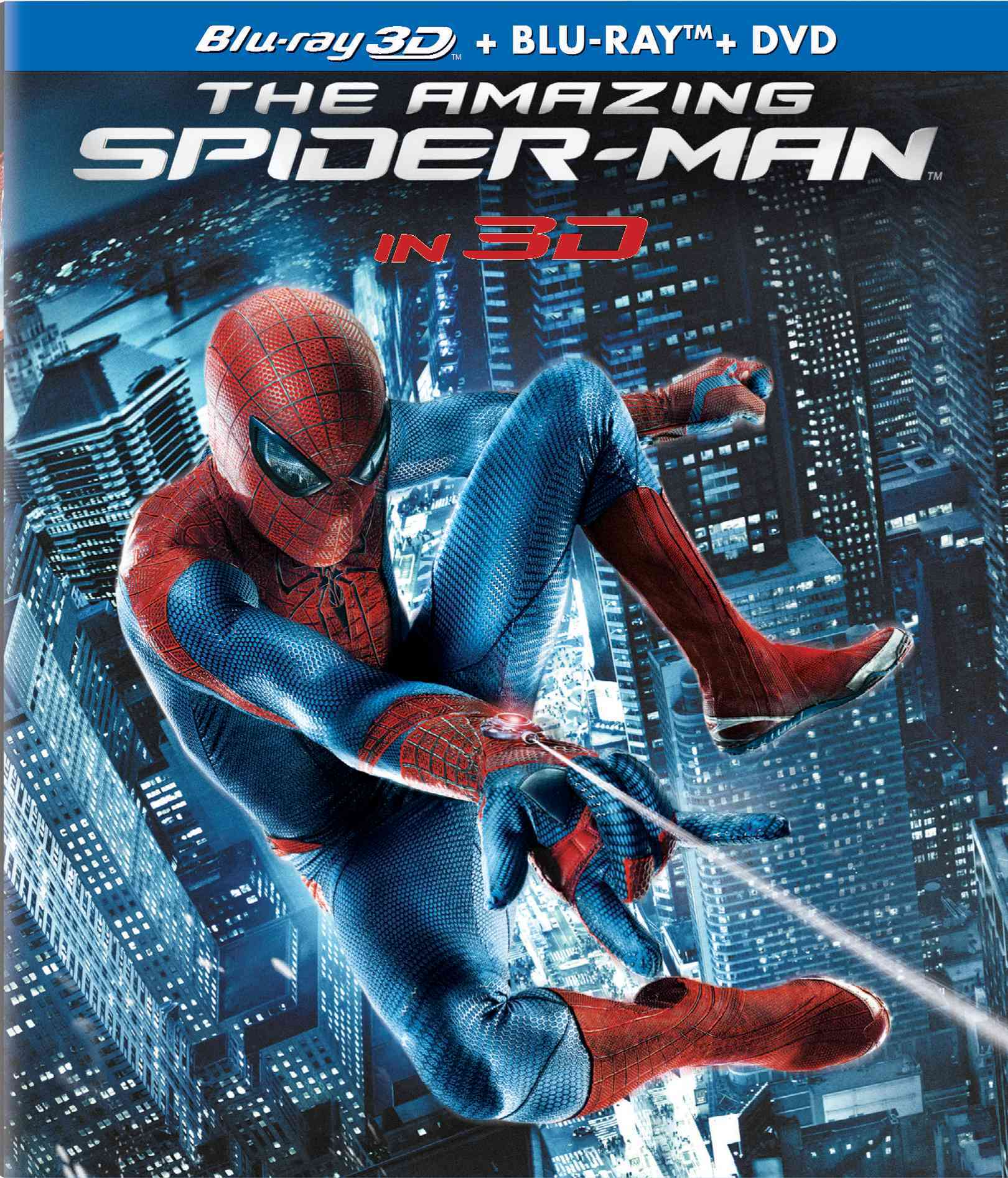 AMAZING SPIDER MAN 3D BY GARFIELD,ANDREW (Blu-Ray)